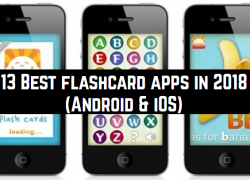 13 Best flashcard apps in 2018 (Android & iOS)