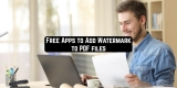 9 Free Apps to Add Watermark to PDF files