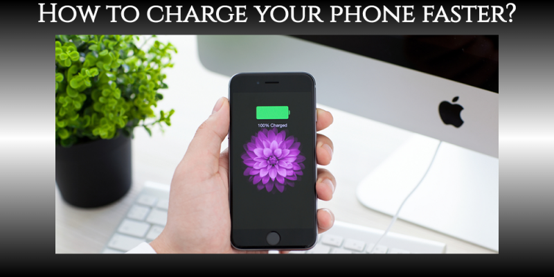 How to charge your iPhone faster. 7 ways