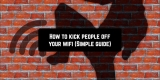 How to kick people off your wifi (Simple guide)