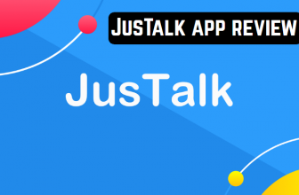 JusTalk app review