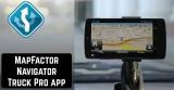 MapFactor Navigator Truck Pro app review
