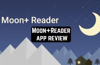 Moon+Reader app review