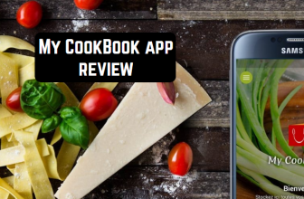 My CookBook app review