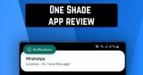 One Shade app review