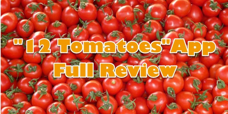 """12 Tomatoes"" App Review"