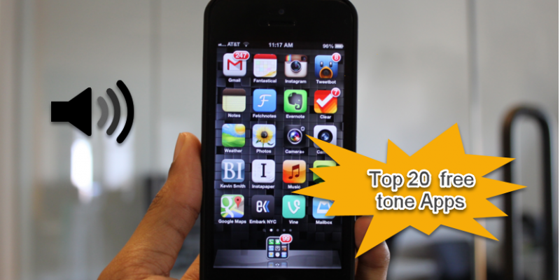 20 Best & free ringtone apps for Iphone and Android