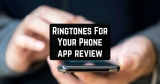 Ringtones For Your Phone app review