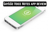 Say&Go Voice Notes app review