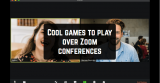 15 Cool games to play over Zoom conferences