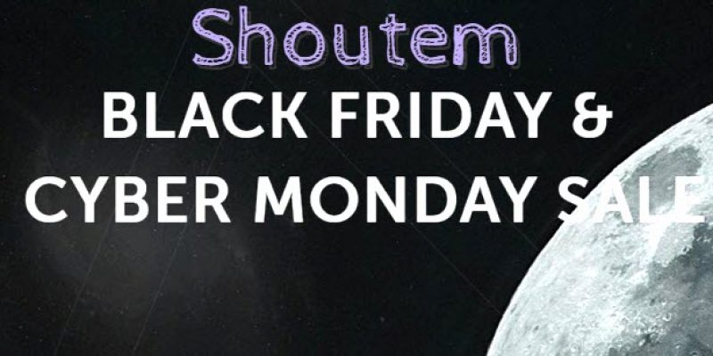 Shoutem Black Friday & Cyber Monday Sale 2016