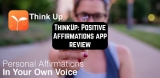 ThinkUp: Positive Affirmations app review