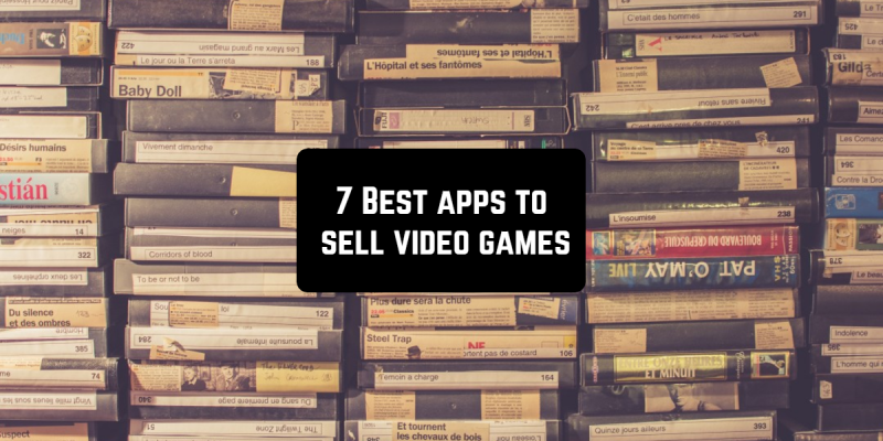 7 Best apps to sell video games