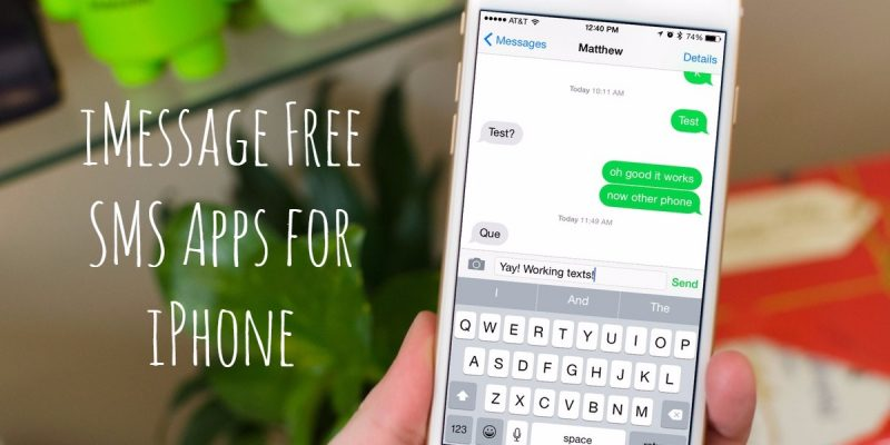 15 Free SMS Apps for iPhone like iMessage