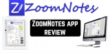 ZoomNotes app review