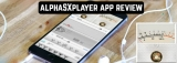 alphaSXplayer app review