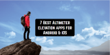 7 Best Altimeter elevation apps for Android & iOS