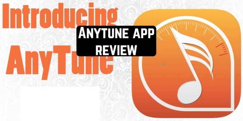 Anytune app review