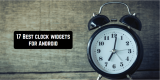 17 Best clock widgets for Android