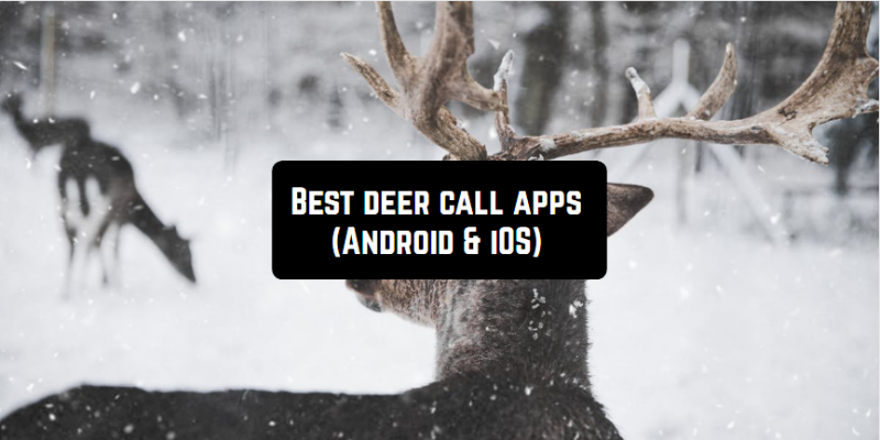 5 Best deer call apps (Android & iOS)