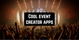 8 Cool event creator apps for Android & iOS