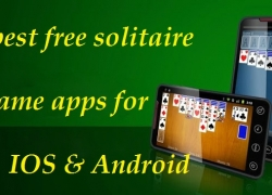 15 best free solitaire game apps for IOS & Android