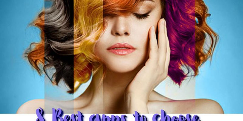 8 Best apps to choose your head color (Android+iOS)