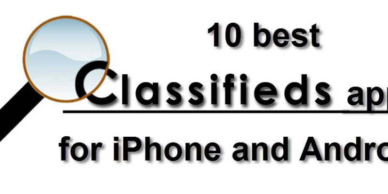 Classifieds apps for Android & iPhone