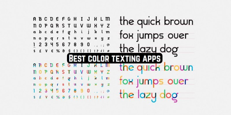 11 Best color texting apps for Android & iOS