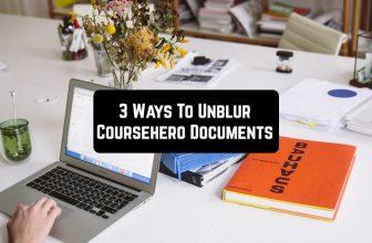 3 Ways To Unblur Coursehero Documents