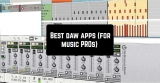 12 Best daw apps (for music PROs) for Android & iOS
