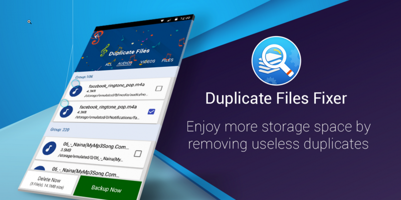 Duplicate Files Fixer App: Duplicate cleaner for Android