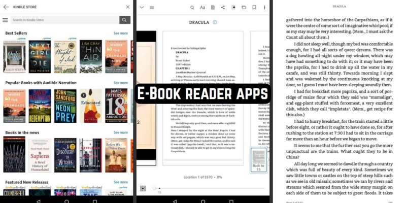 21 Best E-Book reader apps for Android & iOS