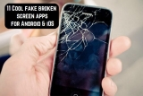 11 Cool fake broken screen apps for Android & iOS