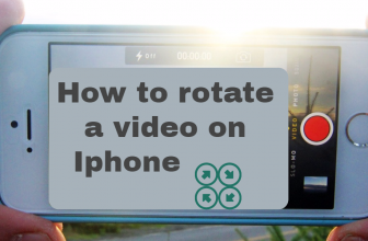 How to rotate a video on iPhone 6 / 6s / 6 plus