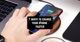 7 ways to charge your iPhone faster