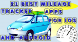 21 Best mileage tracker apps for iOS and Android