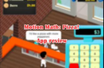 Motion Math: Pizza! app review