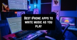 10 Best iPhone apps to write music as you play
