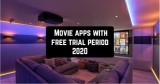9 Movie apps with free trial period 2020