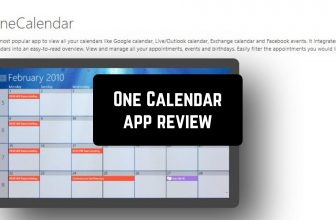 One Calendar App Review