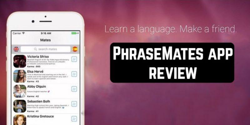 PhraseMates app review