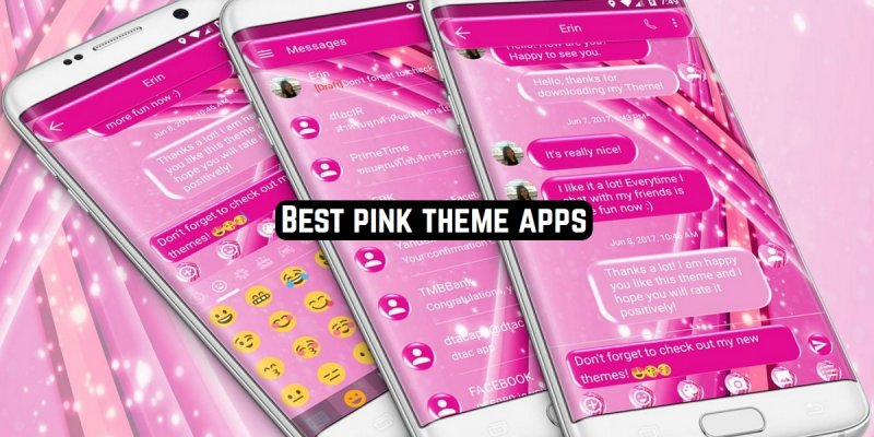 9 Best pink theme apps for Android