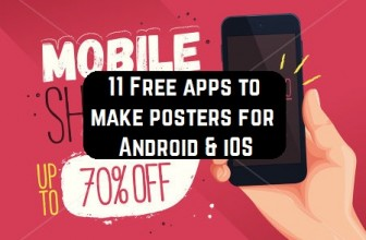 11 Free apps to make posters for Android & iOS