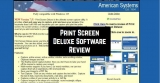 Print Screen Deluxe Software Review