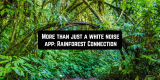 More than just a white noise app: Rainforest Connection