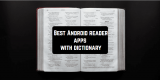 5 Best Android reader apps with dictionary