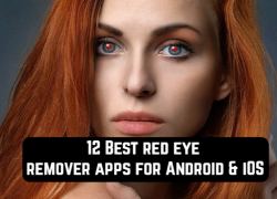 12 Best red eye remover apps for Android & iOS