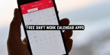 11 Free shift work calendar apps for Android & iOS