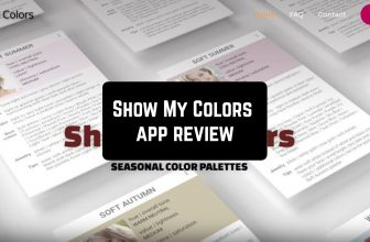 Show My Colors – Seasonal Color Palettes App Review